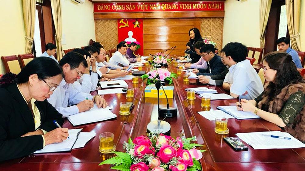 Đoàn công tác của Ban Tuyên giáo T.Ư:  Khảo sát việc học và làm theo Bác tại huyện Lạng Giang